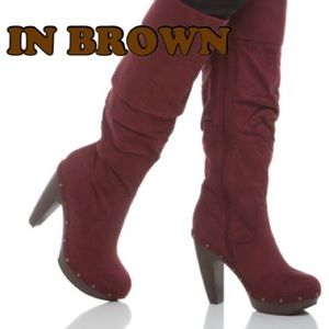 Shoe dazzle Steady heeled boots